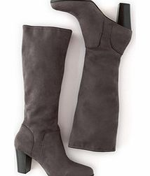 Boden Stretch Heeled Boot, Grey 34218461
