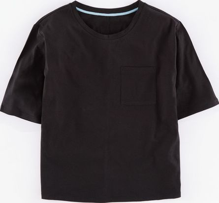 Boden, 1669[^]35263771 Supersoft Boxy Tee Black Boden, Black 35263771