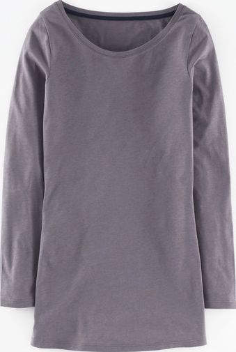 Boden, 1669[^]35027879 Supersoft Long Layering Top Grey Boden, Grey