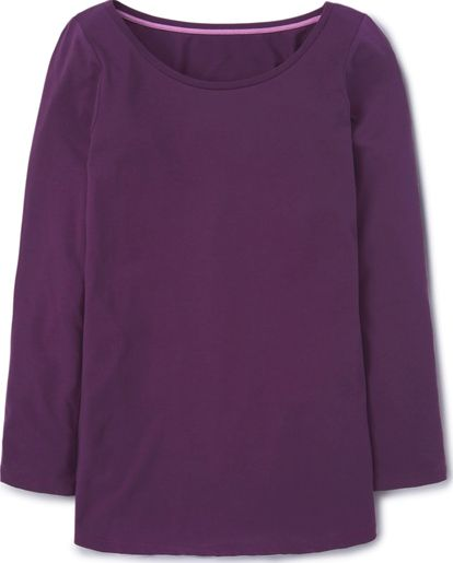 Boden, 1669[^]34981886 Supersoft Long Layering Top Purple Boden, Purple