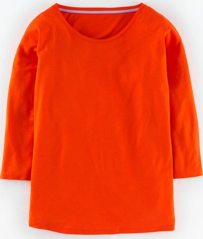 Boden, 1669[^]35006642 Supersoft Oversized Top Orange Red Boden, Orange