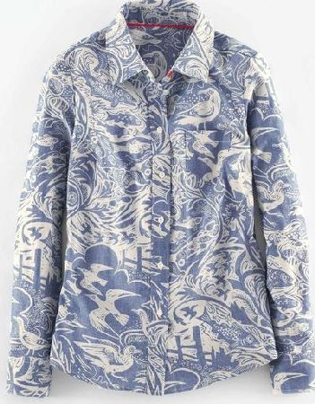 Boden, 1669[^]35040922 The Shirt Mark Hearld Chambray Coastal Boden,