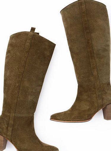 Boden Vintage Suede Boot, Green 34217109