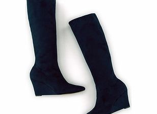 Boden Wedge Stretch Boot, Blue,Grey,Black 34218669