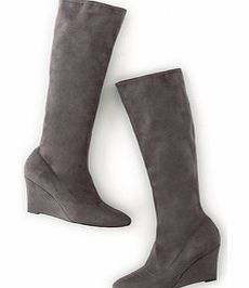 Boden Wedge Stretch Boot, Grey,Blue,Black 34218735