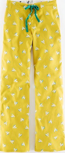 Boden, 1669[^]35217942 Woven Pull-On Pyjamas Cockerel Print Boden,