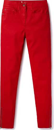Boden, 1669[^]35026236 Zip Ankle Skimmer Jeans Red Boden, Red 35026236