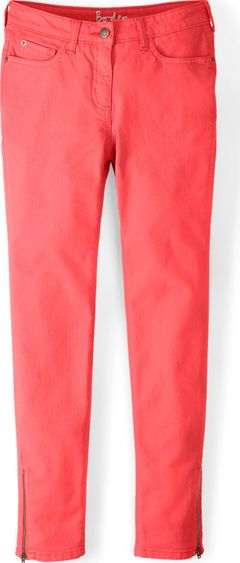 Boden, 1669[^]34631085 Zip Ankle Skimmer Jeans Soft Red Boden, Soft Red