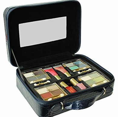 Body Collection Vanity Case Cosmetic Set Body Collection Make Up Storage Box Travel Beauty 22pc