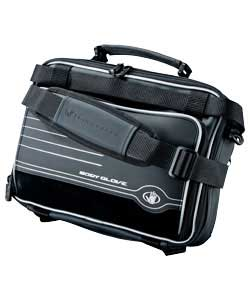 Portable DVD Player Case -Scuba II Black/Silver