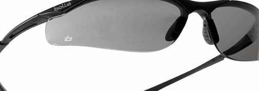 Bollé BOLLE CONTOUR SAFETY GLASSES - CHOICE OF LENSES (SMOKE LENS)
