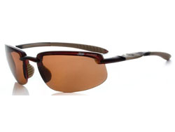 UPSHOT CHOCOLATE/TAN FRAME  POLARISED