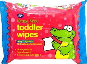 Boots Baby, 2041[^]10050395 Boots Krazy Kroc Berry Fragrance Toddler Wipes -