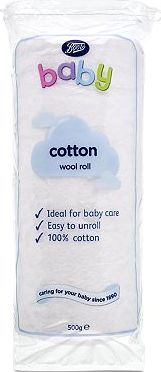 Boots Baby, 2041[^]10087771 Cotton Wool Rolls - 1 x 500g Pack