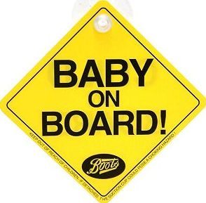 Boots Baby, 2041[^]10049313 On Board Sign 10049313