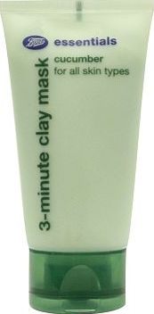 Boots Essentials, 2041[^]10085501 Cucumber 3 Minute Clay Mask