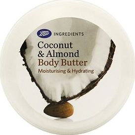 Boots, 2041[^]10083332 Ingredients Coconut and Almond Body Butter