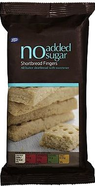 Boots, 2041[^]10010998 No Added Sugar Shortbread Fingers 10010998