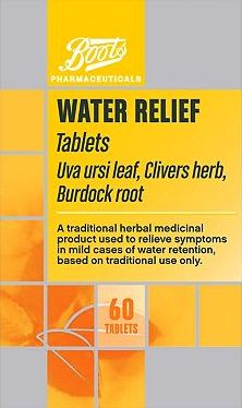 Boots Pharmaceuticals, 2041[^]10017608 Boots Alternative Water Relief (60 Tablets)