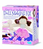 Doll Making Kit - Ballerina - Childs Creative Activity Kit - Childrens Arts and Crafts