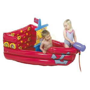 Born to play dora the explorer inflatable pirate ship pool - Inflatable pirate ship swimming pool ...