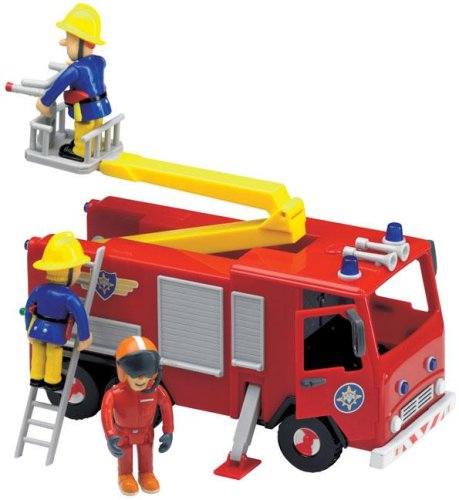 Fireman Sam - Friction Jupiter with Sound & Figures