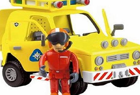 Fireman Sam - Friction Rescue Vehicle with Tom