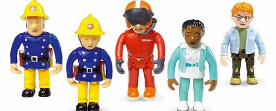 Fireman Sam - Set of 5 Articulated Figures