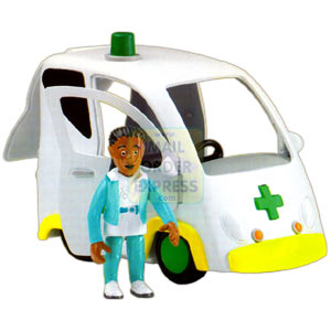 Fireman Sam Ambulance With Nurse Flood