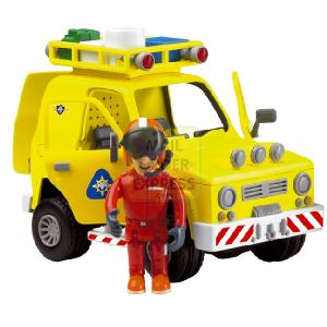 Fireman Sam Rescue Vehicle With Tom