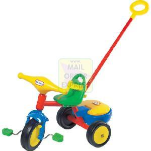 Born To Play Little Tikes Trike With Parent Handle Cycling