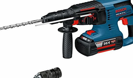 Bosch 0611901R7F 36V Cordless Li-ion SDS Plus Rotary Hammer Drill with Quick Change Chuck
