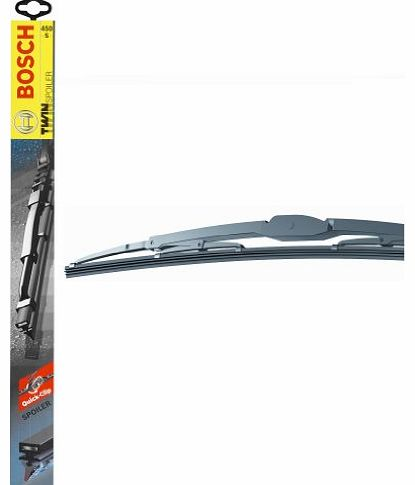 601S Bosch wipers with spoiler Twin Blades 23``/15``