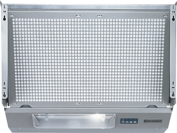 Bosch DHE635BGB 60cm Integrated Hood in Silver