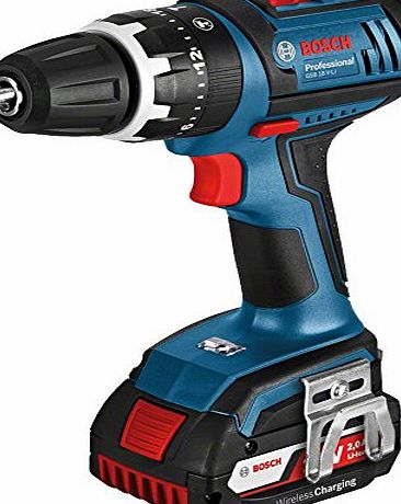 Bosch GSB 18 V-LI Professional Cordless Combi Drill with Wireless Charging