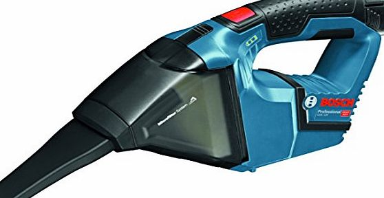 Bosch Professional 06019E3000 GAS 10.8 V-LI Professional Cordless Dust Extractor - Blue