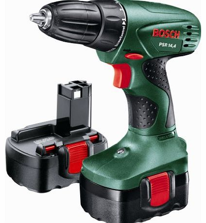 bosch psr 14 4 cordless 14 4 volt drill driver 2 x nicd batteries review compare prices buy. Black Bedroom Furniture Sets. Home Design Ideas