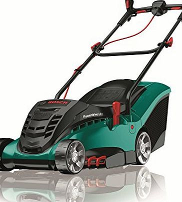 bosch rotak 36 li ergoflex 36 v cordless lithium ion lawnmower 37 cm cutting width review. Black Bedroom Furniture Sets. Home Design Ideas