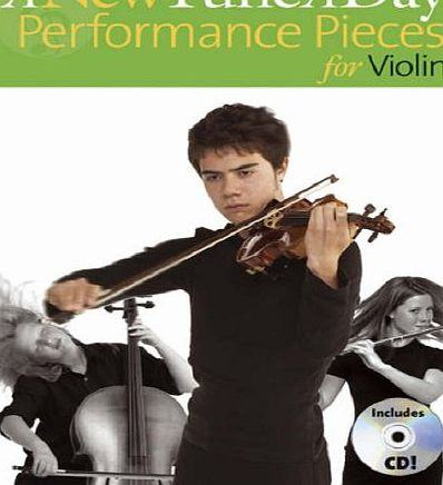 A New Tune A Day Performance Pieces (Violin) Vln Book/Cd
