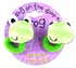 BANG ON THE DOOR 2 FROG SQUEAKY PONYTAIL HOLDERS