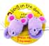 BANG ON THE DOOR 2 MOUSE SQUEAKY PONYTAIL HOLDERS
