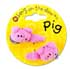 BANG ON THE DOOR 2 PIG SLEEPY HAIR CLIPS
