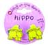BANG ON THE DOOR HIPPO CLAW HAIR CLIPS
