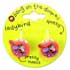 BANG ON THE DOOR LADYBIRD CLAW HAIR CLIP