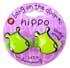 BANG ON THE DOOR MINI HIPPO CUSHIONED PONYTAIL