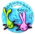BANG ON THE DOOR RABBITS MINI INFLATABLE