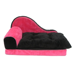 Pink chaise lounge for Cat chaise lounge uk