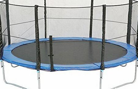 BPS 10FT 305cm 8poles Safety Net for Trampoline --PE Protective Safety Enclosure Net--Dense Weave Manufacture Net only Without Poles