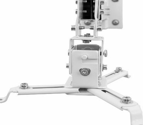 Brateck Video Projector Ceiling/Wall Mount, White, for Acer H6500 H6510BD X1213 X1110 P1100 P1303W P1165P H5350