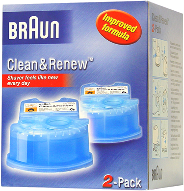 Braun Cleaning Cartridge for Activator, Synchro System and Flex Intergral System models (Twin Pack). Shaver feels like new every day Replaceable cartridge with alcohol based cleaning fluid. Now with better lubrication to improve shaver performance. M - CLICK FOR MORE INFORMATION